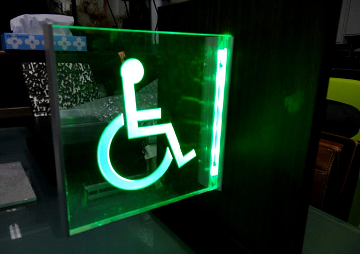 Numazu SA Toilet Display Board