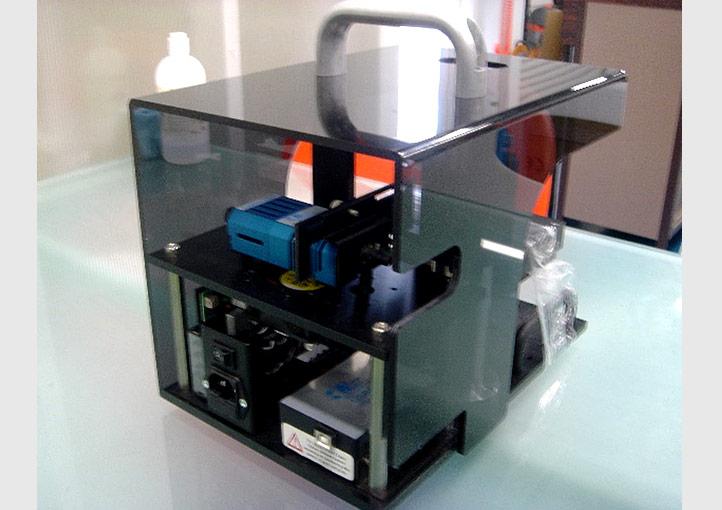 電磁波スペクトルを測定する分光器