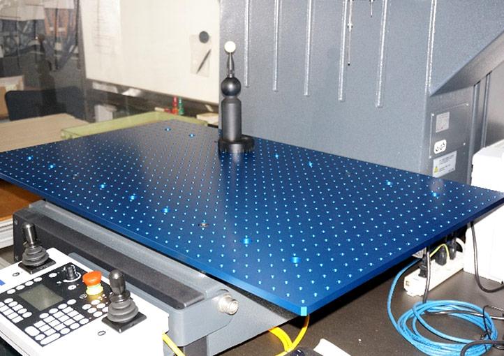 社内3次元座標測定器の拡張プレート