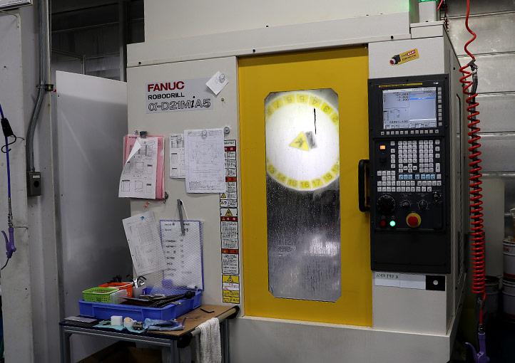 マシニングセンター ファナックロボドリル α-D21MiA5
